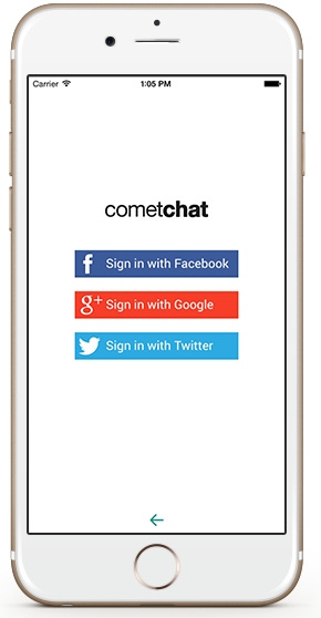 Social Authentication Login