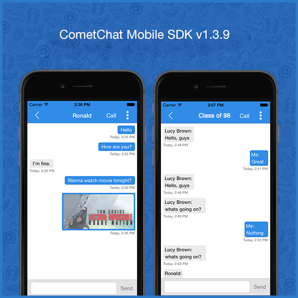 Mobile Chat SDK for iOS & Android