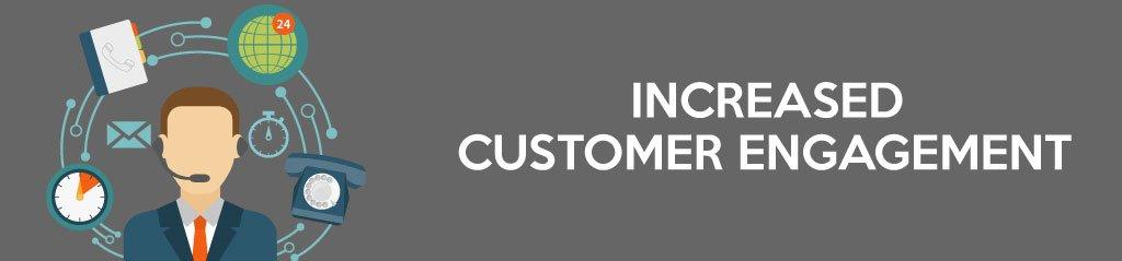 Increased Customer Engagement, Social network for website