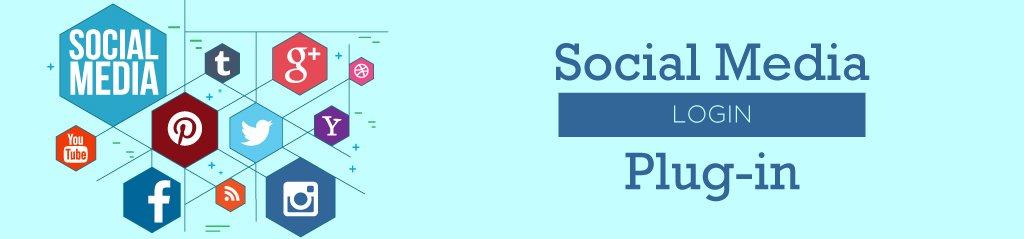 Social Media Login Plug-in