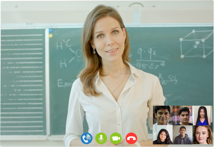 Create interactive virtual classrooms with Voice & Video Chat