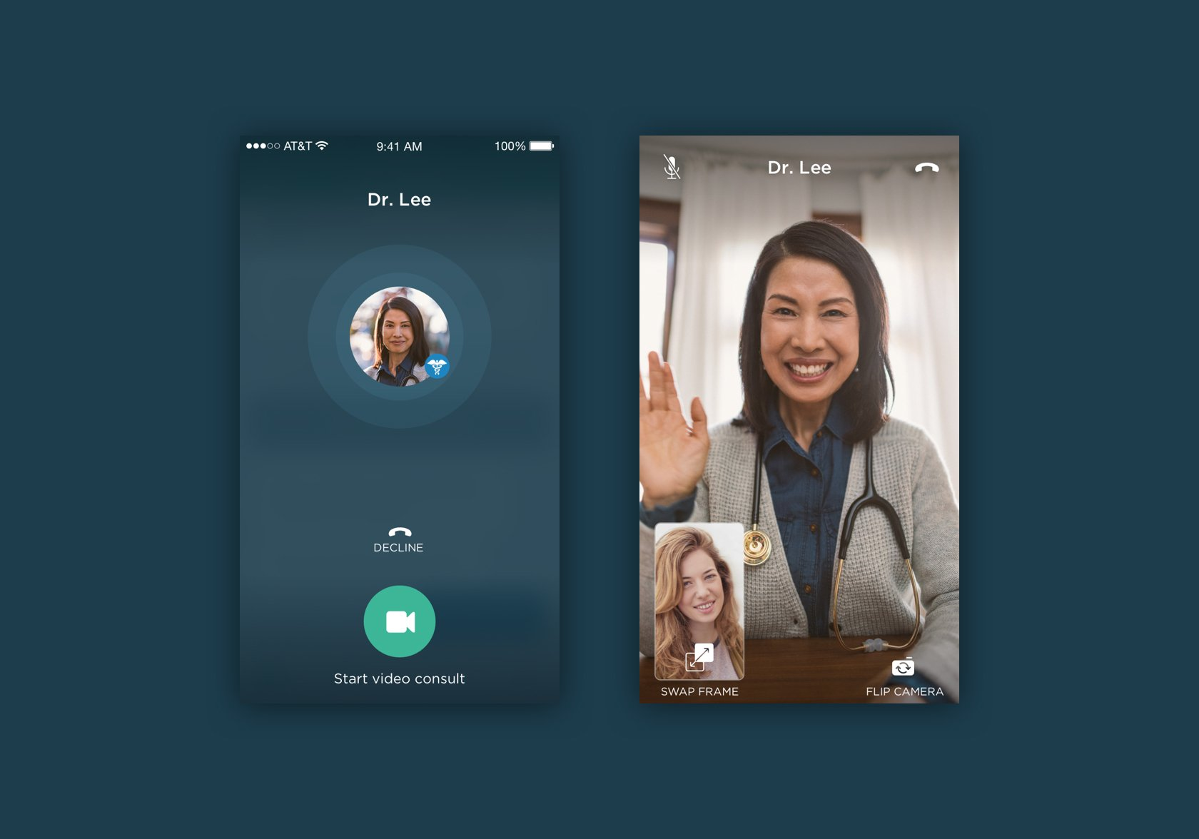 First Opinion uses video calling to connect doctors to patients