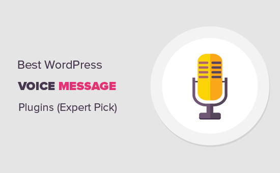 Top picks for voice message plugins by WPBeginner