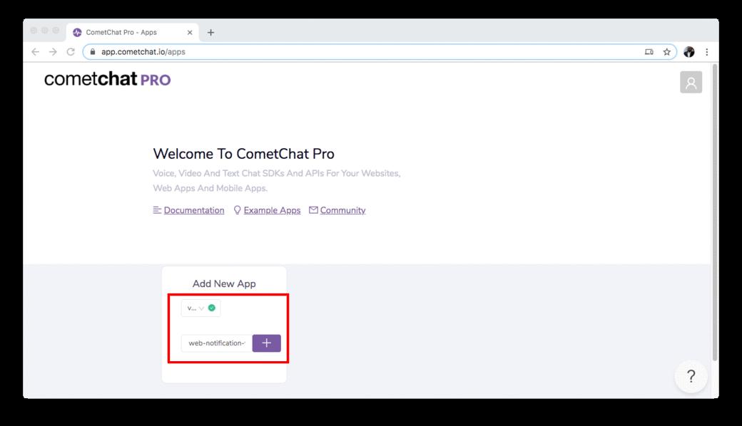 CometChat Pro App